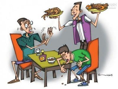 Vui ăn Tết, bạn đừng quên những bệnh thường gặp này! - ảnh 1