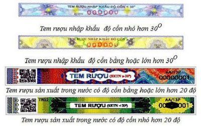 Tất cả các loại rượu tại Việt Nam phải dán tem mới được bán? - ảnh 1