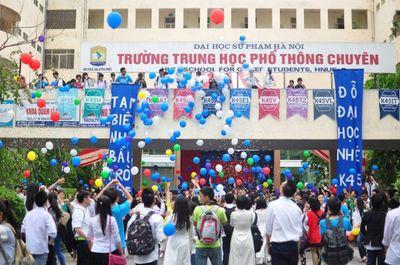 """Trường THPT Chuyên ĐH Sư phạm Hà Nội """"chốt"""" số lượng, cách thức tuyển sinh năm 2019 - ảnh 1"""