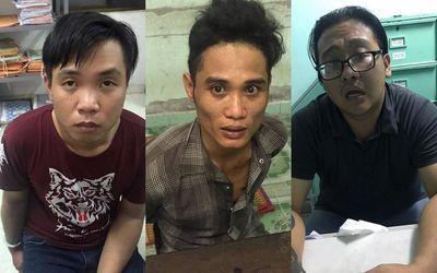 TP HCM: Nhóm dàn cảnh cướp xe của đôi trai gái đã bị bắt - ảnh 1