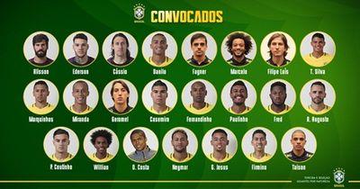 Brazil chính thức công bố đội hình tham dự World Cup 2018 - ảnh 1