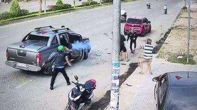 Vụ nổ súng truy sát nhau ở Đồng Nai: Bắt thêm 1 nhân viên công ty bảo vệ - ảnh 1