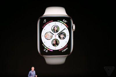"""Apple Watch Series 4 ra mắt: Nhiều tính năng """"độc"""", giá từ hơn 9 triệu - ảnh 1"""