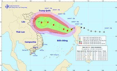 Dự báo thời tiết ngày 14/10: Biển Đông xuất hiện bão số 11, giật cấp 10 - ảnh 1