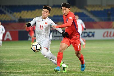 U23 Việt Nam thua Hàn Quốc 1-2 ngay trận đầu ra quân - ảnh 1