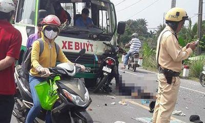 2 người tử vong vì lấn làn, tông trực diện xe buýt  - ảnh 1