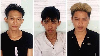 Cảnh sát nổ 3 phát súng khống chế nhóm trộm xe máy - ảnh 1