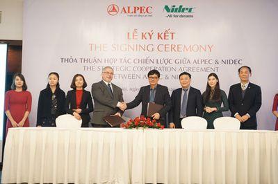 Tập đoàn lớn thứ 2 Nhật Bản bắt tay với Alpec chinh phục thị trường thang máy Việt Nam - ảnh 1