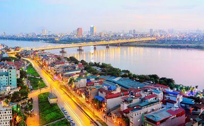 Sức hấp dẫn của bất động sản ven sông Hồng - ảnh 1