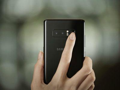 Galaxy S9 sẽ sớm ra mắt smartphone tích hợp Touch ID dưới màn hình - ảnh 1