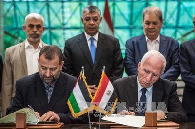 Fatah và Hamas chính thức ký thỏa thuận hòa giải lịch sử - ảnh 1