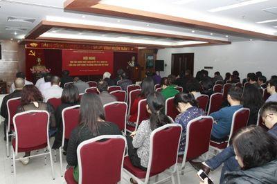Hội Luật gia VN học tập quán triệt Nghị quyết Trung ương 4 khóa XII - ảnh 1