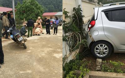 Vụ giáo viên lái xe đâm chết học sinh: Cô lái nhưng thầy nhận thay - ảnh 1