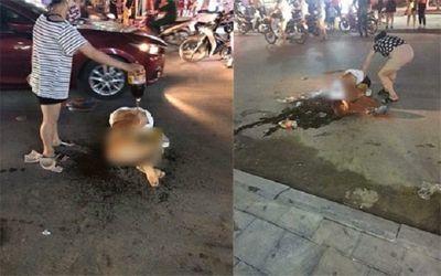 Vụ cô gái bị lột đồ, đổ nước mắm đánh ghen ở Thanh Hóa: Công an triệu tập 2 người - ảnh 1