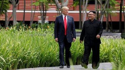 """Tổng thống Trump tiết lộ có """"món quà nhỏ"""" tặng nhà lãnh đạo Triều Tiên - ảnh 1"""