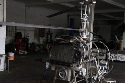 """Cận cảnh máy bay tự chế vừa cải tiến của """"hai lúa"""" Bùi Hiển - ảnh 1"""
