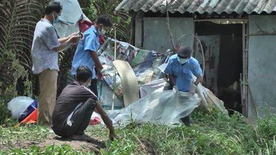 Diễn biến điều tra mới nhất vụ thi thể người phụ nữ đang phân hủy trong lu - ảnh 1