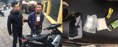 Hà Nội: Giấu ma túy trong quần lót vẫn không thoát khỏi 141 - ảnh 1