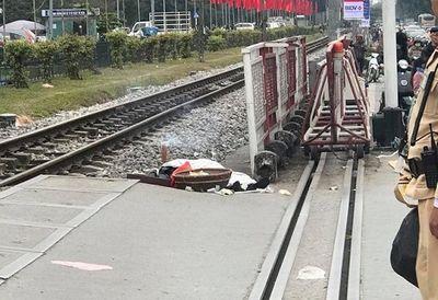 Hà Nội: Tai nạn tàu hỏa, một người đàn ông tử vong - ảnh 1