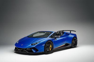 "Lamborghini ra mắt ""siêu xế"" Huracan Performante Spyder - ảnh 1"