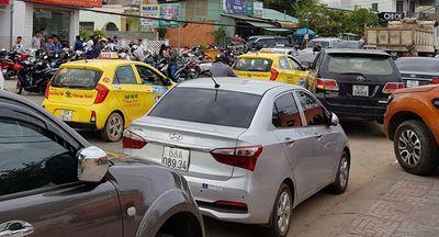 """Hơn 1.000 taxi """"ồ ạt"""" theo nhau ra đảo ngọc Phú Quốc - ảnh 1"""