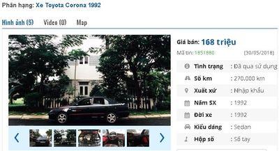 Giật mình với giá siêu rẻ của những chiếc Toyota cũ đang rao bán - ảnh 1