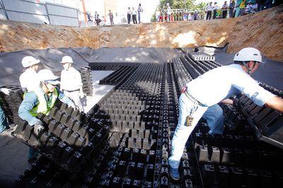 Hà Nội chi 25 tỷ đồng làm hồ ngầm chống ngập tại chợ Hàng Da - ảnh 1