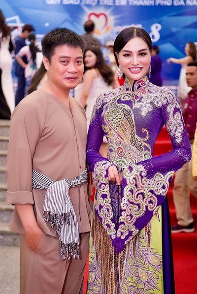 Nữ Hoàng Trần Huyền Nhung và nhà thiết kế Tuấn Hải cặp đôi hoàn hảo đồng hành trong các sự kiện - ảnh 1