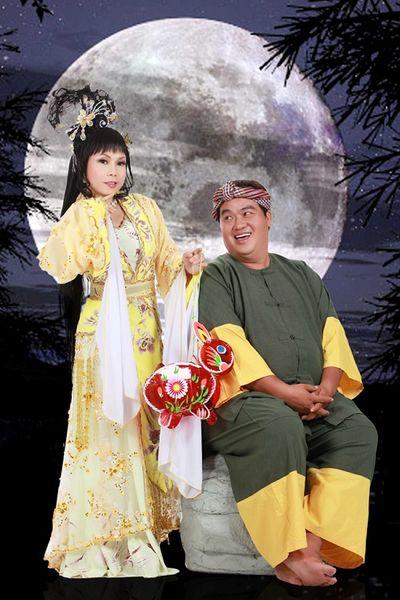 Sao Việt hóa chị Hằng, chú Cuội đáng yêu như thế nào trong ngày tết Trung Thu - ảnh 1