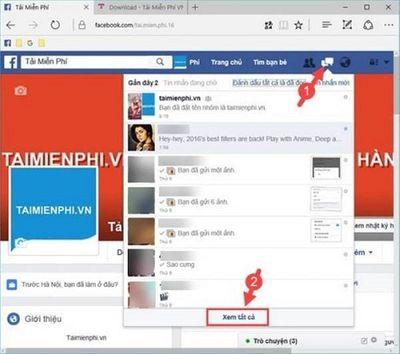 Muốn phục hồi tin nhắn Facebook đã xóa hãy thử ngay mẹo này - ảnh 1