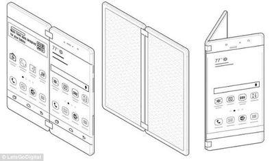 Hé lộ điện thoại Galaxy X gập đôi như cuốn sách  - ảnh 1