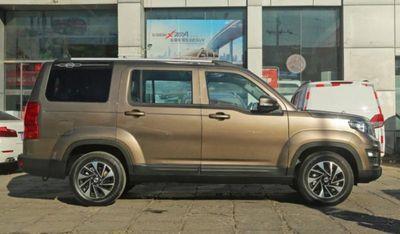 Ô tô Land Rover của Trung Quốc giá 206 triệu đồng: Bánh xe nhỏ như xe tay ga - ảnh 1