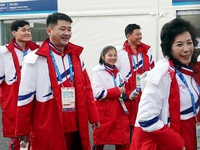 Đoàn VĐV Olympic Triều Tiên từ chối nhận Galaxy Note 8 - ảnh 1