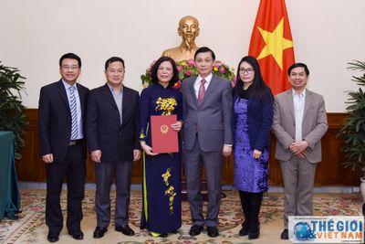 Nhân sự mới Bộ Ngoại giao, Văn phòng Chính phủ - ảnh 1