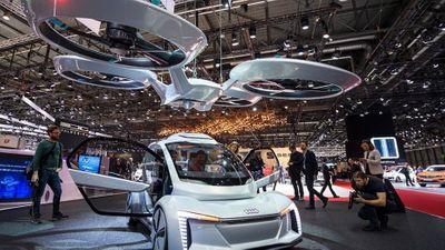 Hai ông lớn Audi và Airbus bắt tay làm taxi bay - ảnh 1