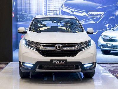 Honda CR-V 2018 có giá tương đương với phiên bản thái cho dù bị rút gọn nhiều linh kiện - ảnh 1