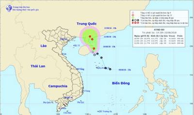 Dự báo thời tiết 11/8: Áp thấp nhiệt đới trên biển Đông gây mưa dông trên diện rộng   - ảnh 1