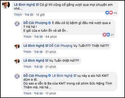 """Cát Phượng chính thức lên tiếng về nghi vấn """"giật dây"""" chuyện tình Kiều Minh Tuấn và An Nguy - ảnh 1"""