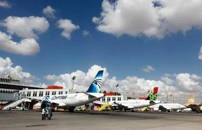 Sân bay quốc tế Libya trúng tên lửa ngày Đại sứ Pháp và Liên Hợp Quốc viếng thăm - ảnh 1