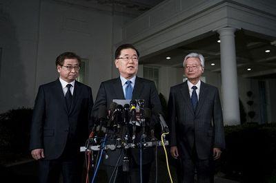 Cố vấn an ninh Hàn Quốc bí mật thăm Washington trước hội nghị thượng đỉnh Mỹ-Triều Tiên - ảnh 1