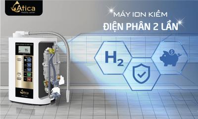 """4 điểm """"độc nhất vô nhị"""" của máy tạo nước ion kiềm giàu hydro Atica - ảnh 1"""
