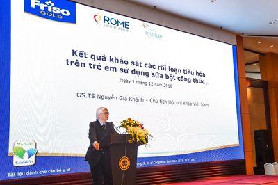 Nhãn hàng Friso đồng hành cùng Hội nghị Nhi khoa toàn quốc 2018 - ảnh 1