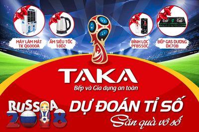 Khuấy động World Cup cùng cơn lốc quà tặng từ TAKA - ảnh 1