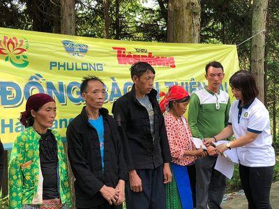 Tấm lòng Phú Long hướng về vùng lũ Hà Giang - ảnh 1