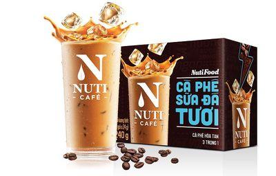 """NutiFood """"đóng gói"""" cà phê sữa đá pha phin vào gói cà phê hòa tan - ảnh 1"""