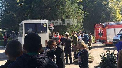 Đánh bom, xả súng khủng bố tại trường học Crimea: 70 người thương vong - ảnh 1