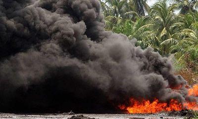 Nổ xe bồn chở xăng ở Nigeria, 60 người thiệt mạng - ảnh 1
