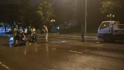Công an Bình Định lên tiếng vụ chiến sĩ CSGT làm việc với dân bỗng té ngửa xuống đường - ảnh 1