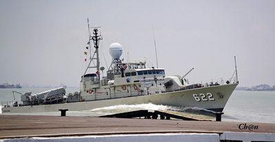 Tàu tên lửa Indonesia hỏng động cơ, bốc cháy dữ dội giữa biển - ảnh 1