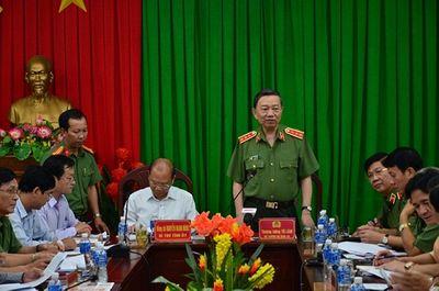 Bộ trưởng Tô Lâm vào Bình Thuận chỉ đạo đảm bảo an ninh trật tự - ảnh 1